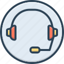 call, center, cooperation, headphone, headset, listen, support