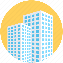 building, city building, office blocks, real estate, skyscraper icon