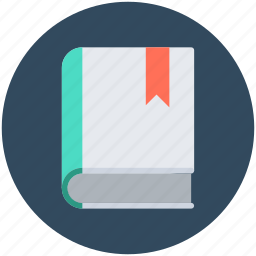 bookmark, diary, notebook, notepad, notes icon