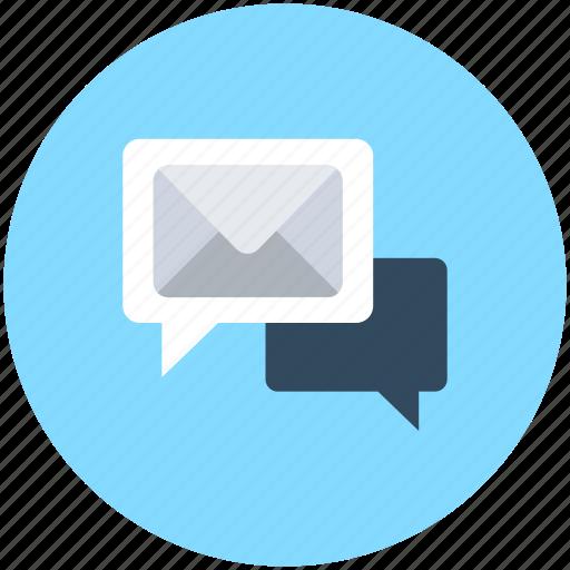 chat balloon, chat bubble, message, speech balloon, speech bubble icon