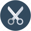 cut, cutting tool, scissor, shear, snip icon