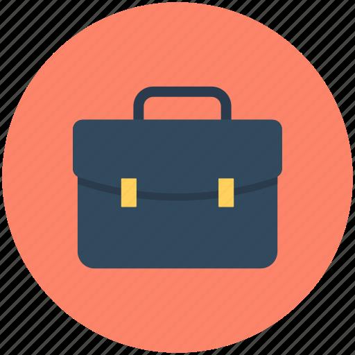 books bag, briefcase, business bag, documents bag, portfolio icon