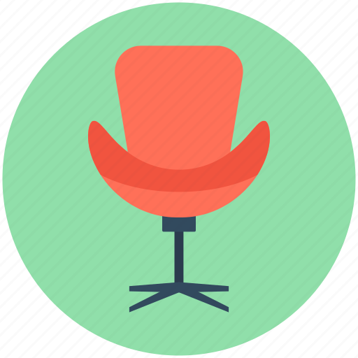 chair, office, office chair, revolving chair, swivel chair icon