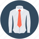 dress shirt, formal wear, necktie, shirt, uniform icon