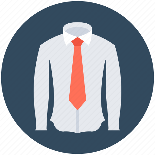dress shirt, formal wear, necktie, shirt, uniform icon