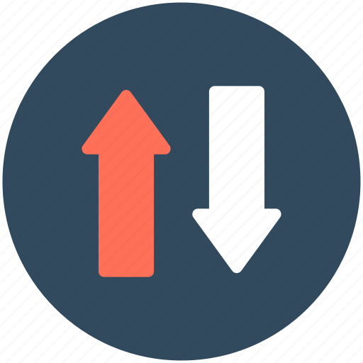 Arrows, data exchange, data transfer, down arrow, up arrow icon - Download on Iconfinder