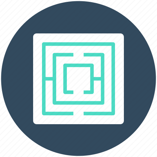 findway game, labyrinth, maze, puzzle, strategy icon