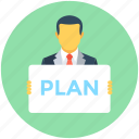 action plan, idea, plan, planning, scheme icon