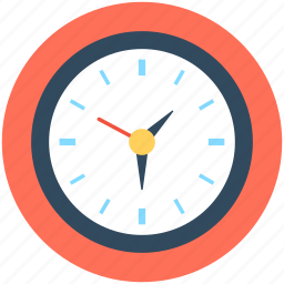 time, time keeper, wall clock icon