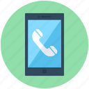 call, mobile, mobile call, phone call, smartphone icon
