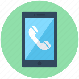 call, mobile, mobile call, phone call, smartphone icon