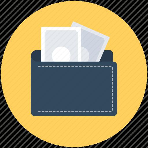 Billfold wallet, card holder, coin wallet, purse, wallet icon - Download on Iconfinder