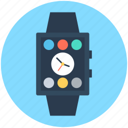 hand watch, smart watch, timer, watch, wrist watch icon