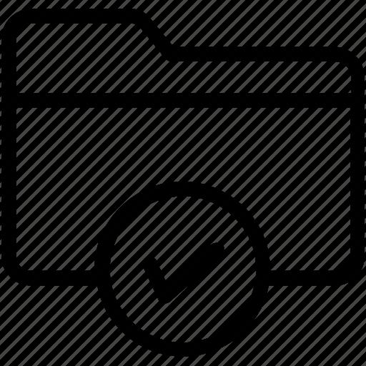 data organize, folder accept, folder access, folder check, folder directory icon