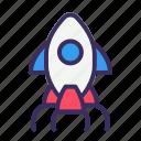 launch, rocket, release, startup