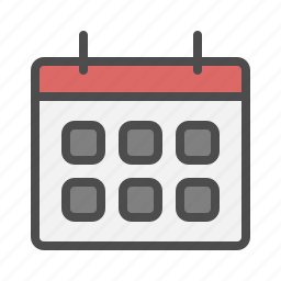 calendar, date, event, mark icon
