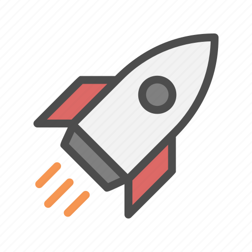 boost, launch, launching, rocket, up icon