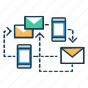 advertisement, business, communication, email clients icon