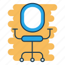 chair, furniture, job vacancy, office, recruitment, wheel chair icon