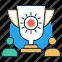 awards, best employee, compensation, performance, privilege, rewards icon