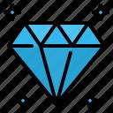 crystal, diamond, gem, gemstone, jewel, jewelry, stone icon