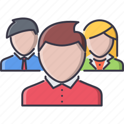 business, command, company, job, office, team, work icon