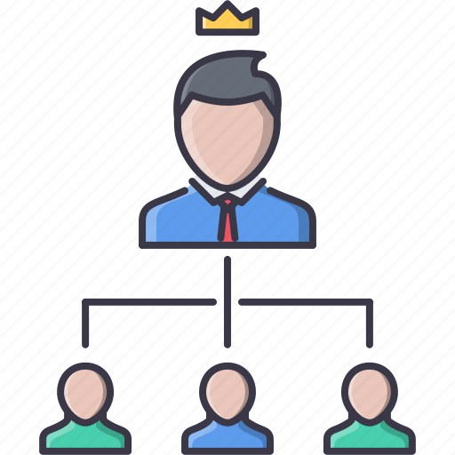 boss, business, hierarchy, job, office, structure, work icon