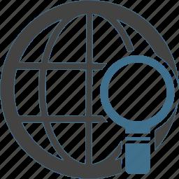 global, information, international, location, search, worldwide icon