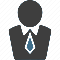 business, businessman, suit, suit and tie, tie icon