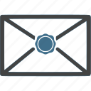 closed, communication, envelope, letter, mail, message icon