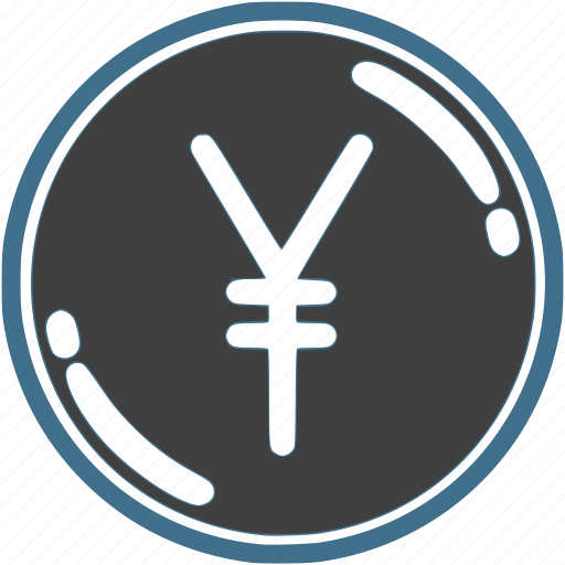 coin, currency, exchange, finance, money, yen icon