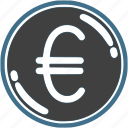 coin, currency, euro, exchange, finance, money icon