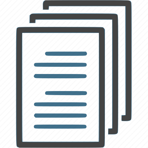 data, document, paper, work icon