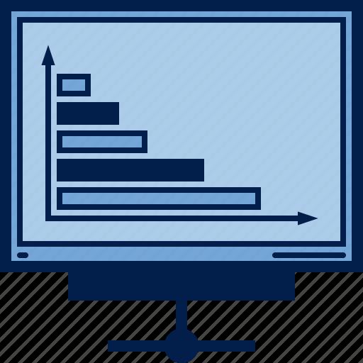 business, chart, computer, diagram, pc, schedule, statistics icon