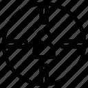business, center, finance, man, target, user icon