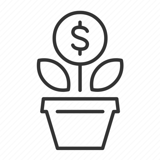 business, invest, investment, money icon