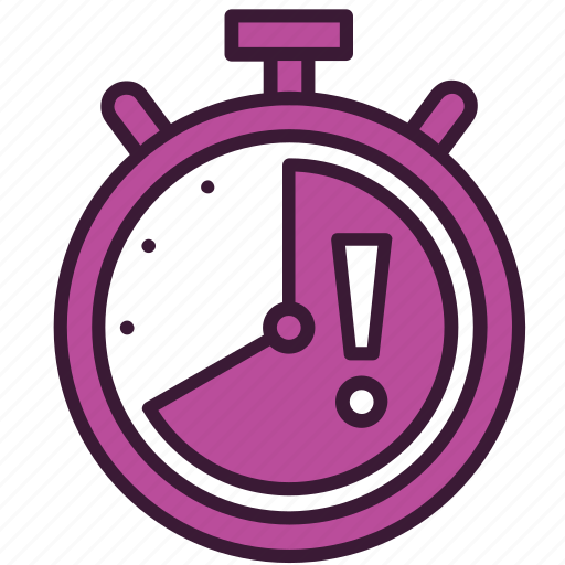 attention, date, deadline, limit, schedule, time, timer icon
