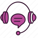 chat, customer, headphones, help, information, service, support icon