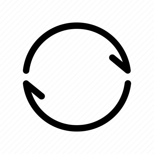 infinity, loop, refresh, repeat, rotate icon