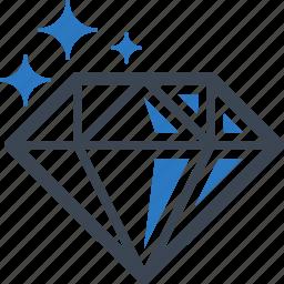 diamond, gemstone, investment, jewelry icon