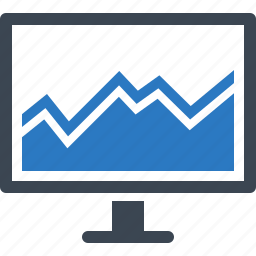 analytics, chart, financial report, graph, statistics icon