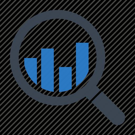 analytics, bar graph, financial report, monitoring, statistics icon