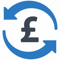 banking, currency, exchange rate, money transfer, pound icon