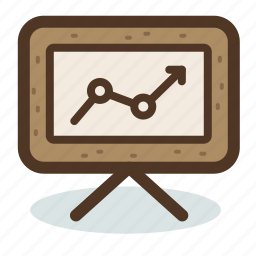 analysis, analytics, board, chart, marketing, results, statistic icon