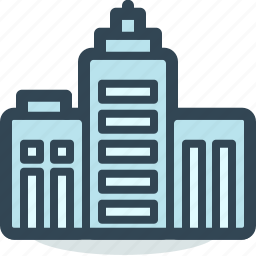 architecture, building, city, company, construction, infrastructure, office icon