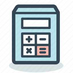 calc, calculate, calculation, calculations, calculator, math, mathematics icon