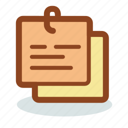 note, notepad, notes, paper, sheet icon