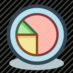 analytics, chart, diagram, marketing, results, schedule icon