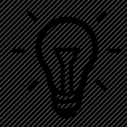 bulb, charge, creative, idea, light, lightbulb, power icon