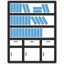 almirah, almirh, book, data, server icon